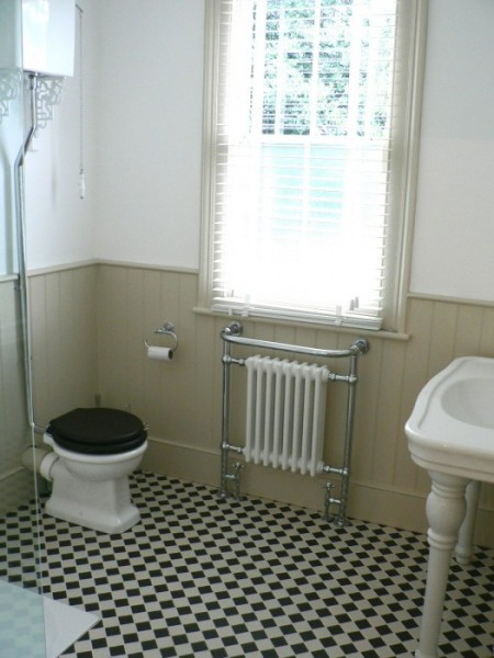 Edwardian house complete refurbishment london nash interior design Bathroom design company london